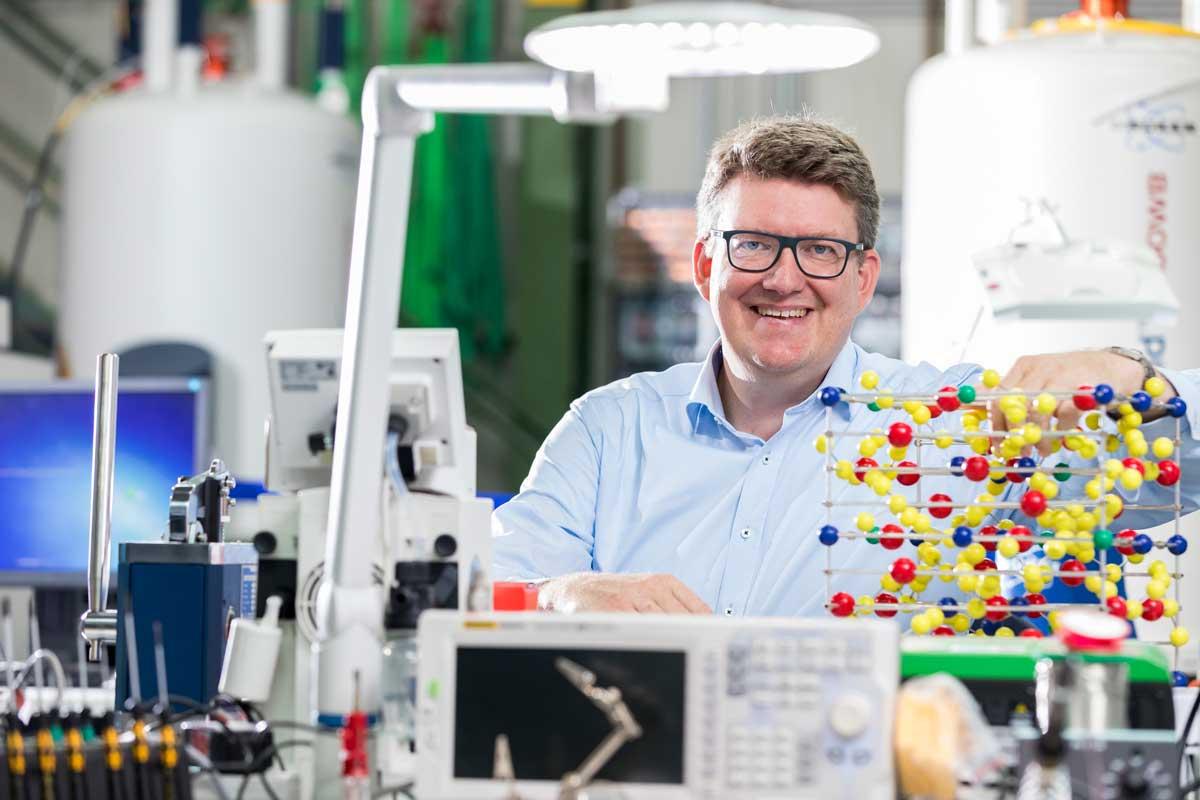 Prof. Rüdiger Eichel, Institutsleiter des IEK-9 am Forschungszentrum Jülich