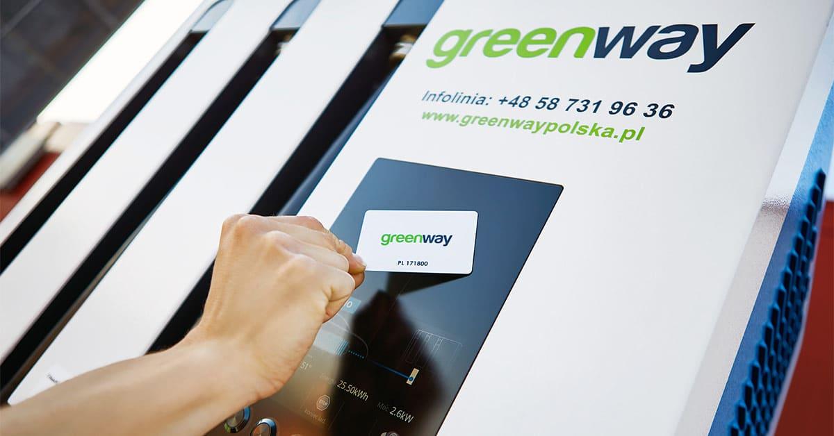 Laden an einer GreenWay-Station in Polen - umschalten