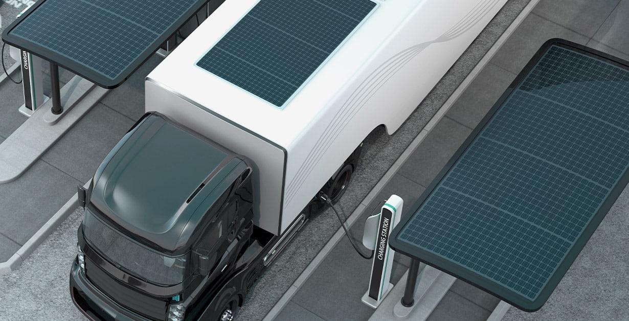 Beitragsbild Solar LKW